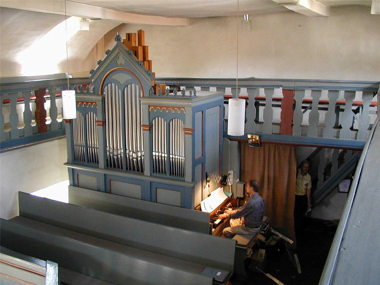 Orgel der Petri Kirche. (© Detlef Battefeld)