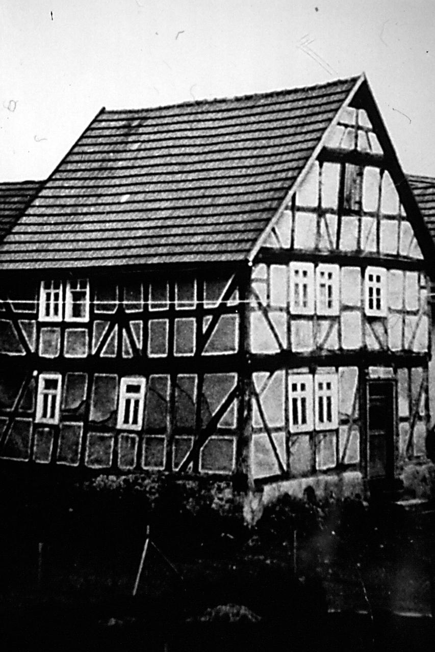 """""""Stuhlmanns"""" Haus, abgerissen. (© Stadt Frankenberg Eder)"""