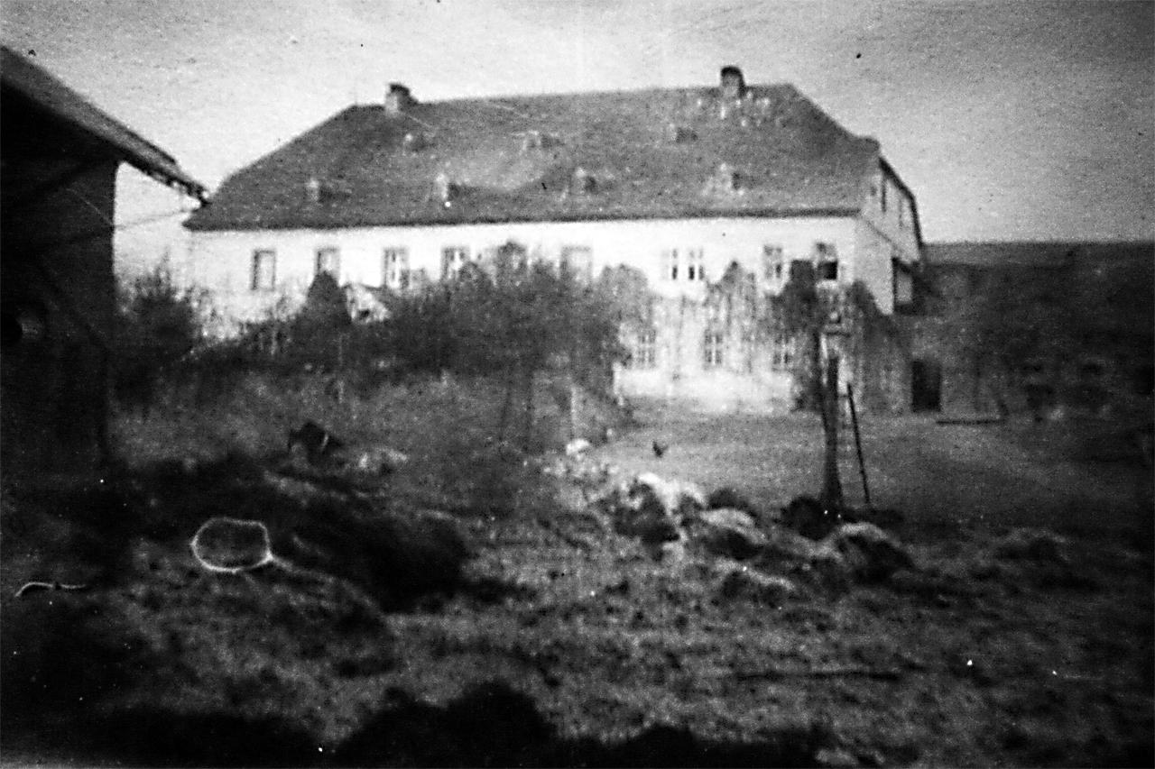 Gutshof / Guthaus frühe 1900er. (© Stadt Frankenberg Eder)
