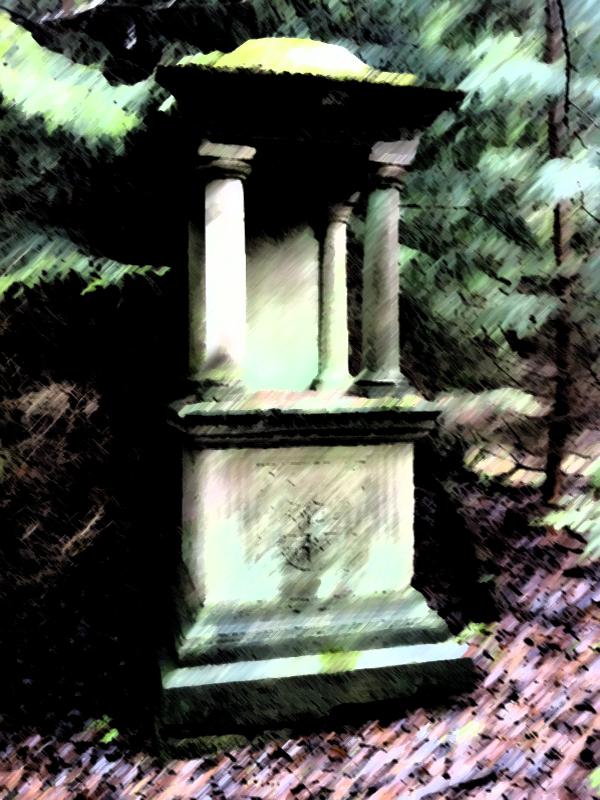Grabmal Carl Freiherr von Bodeck