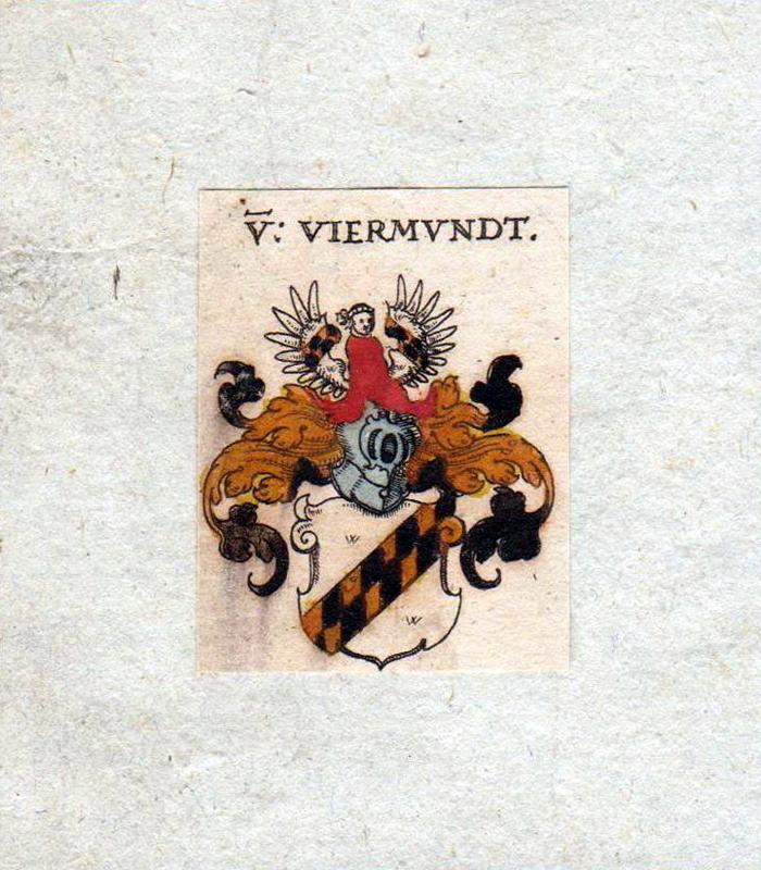 HERALDIK - Viermundt Kupferstich aus Siebmachers Wappenbuch, 1605. (© Mike Schwarz)