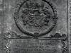 Gerichtsherren in Viermünden waren die Herren - von Keseberg 1220 - von Hohenfels 1324 - von Dersch und von Viermund im 15./16. Jahrhundert - der Landgraf von Hessen ab 1575. Hier das Wappen derer von Dersch auf einer Grabplatte in der Viermündener Kirche. (© Hans-Otto Landau)