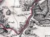 Kartenausschnitt der sog. Schleenstein'schen Karte des Amtes Frankenberg von etwa 1715. Der Hof Hermannsberg ist eingetragen. (© Stadt Frankenberg Eder)