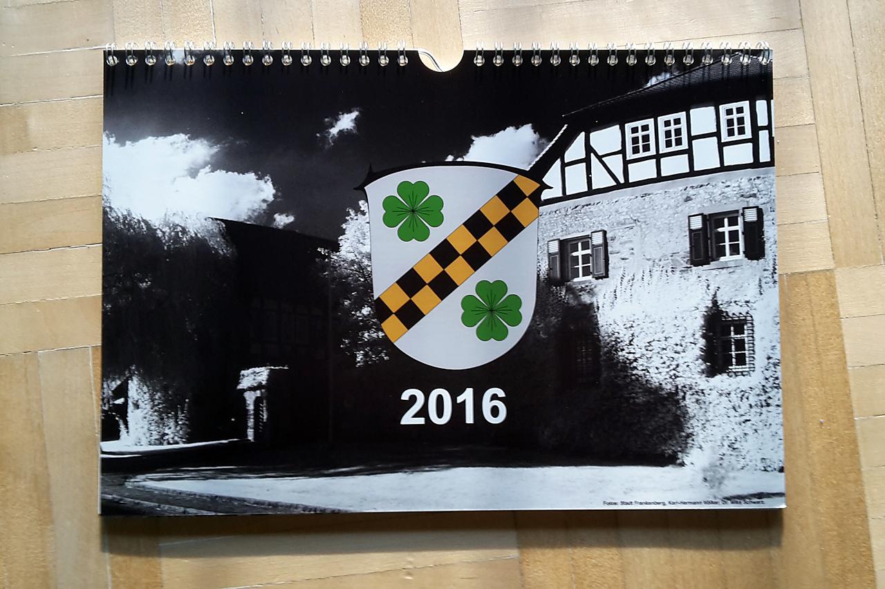 Kalender 2016 mit historischen Aufnahmen von Viermünden