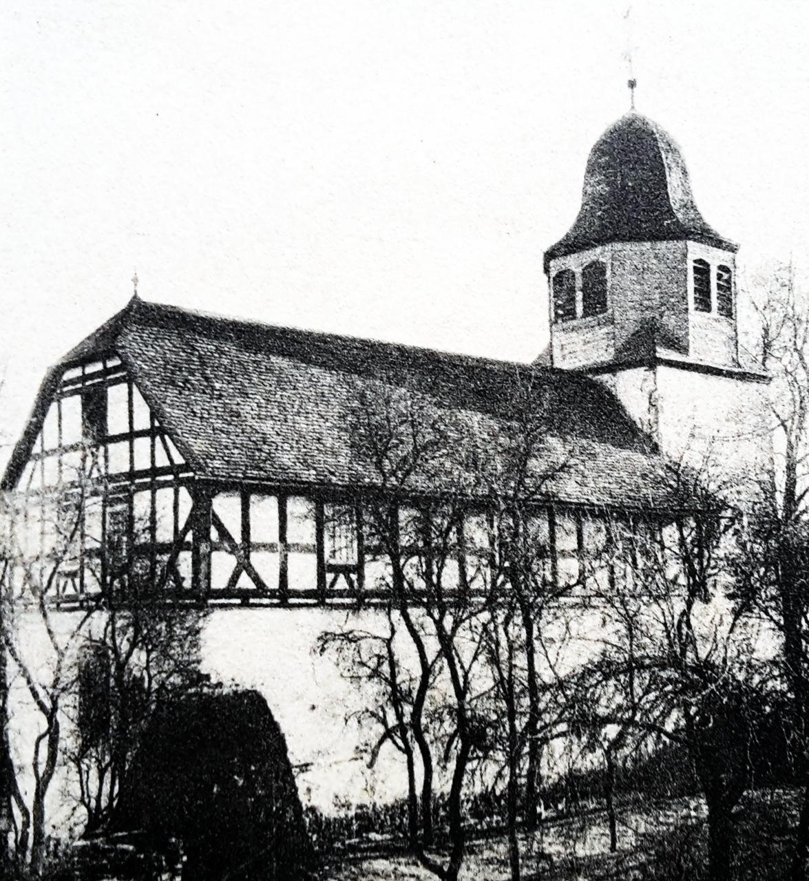 Ansicht der Petri Kirche vor 1934